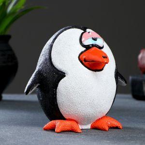 """Копилка """"Сонный пингвин"""" 11х12,5х11см   4793790"""