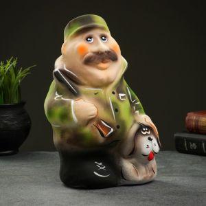 "Копилка ""Охотник с собакой"" 27х18см 4877817"