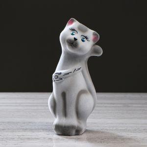 """Копилка """"Кот Том"""", покрытие флок, серая, 22 см, микс"""