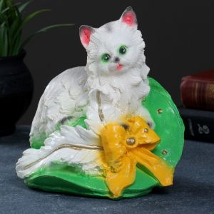 "Копилка ""Котёнок на шляпе"" 19х20см, МИКС    3928761"