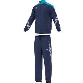 Тёмно-синий футбольный костюм adidas Sereno 14 Presentation Suit