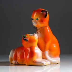 """Копилка """"Мастер и Маргарита"""", покрытие лак, оранжевая, 24 см, микс"""