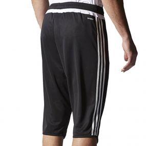 Футбольные бриджи adidas Tiro 15 3/4 Pants чёрные