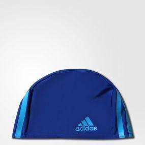 Шапочка для бассейна adidas Infinitex Cap Kids One-Piece синяя