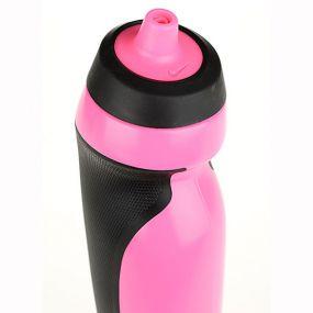 Розовая спортивная бутылка для воды Nike sport water bottle