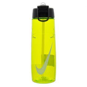 Спортивная бутылка Nike T1 Flow Swoosh 24oz жёлтая