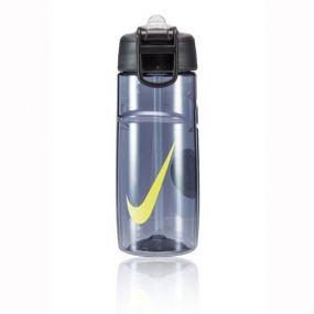 Бутылка Nike T1 flow swoosh 16oz спортивная сине-жёлтая