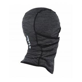 Повязка на шею и голову Nike run therma sphere hood серо-чёрная