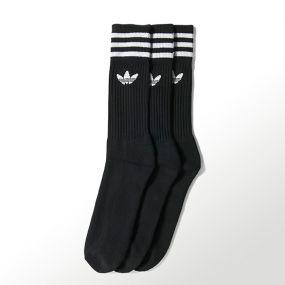 Носки adidas Solid Crew Socks чёрные