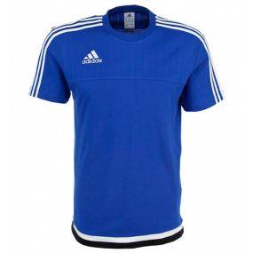 Футболка adidas Tiro 15 Tee тёмно-синяя