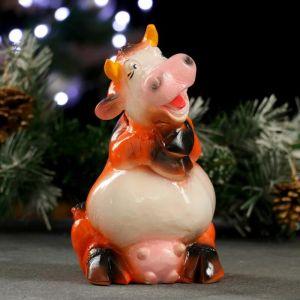 "Копилка ""Корова со сложенными лапками"" 20х11х12см 5066370"