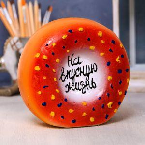Копилка «Пончик», гипс 4095565