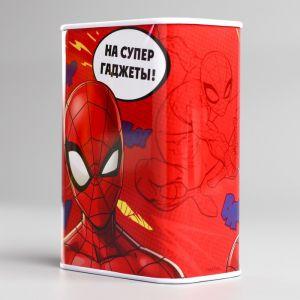 """Копилка прямоугольная """"На супер гаджеты!"""", Человек-паук   3839994"""