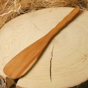 Лопатка, кухонная, с резной ручкой, можжевельник 3469297