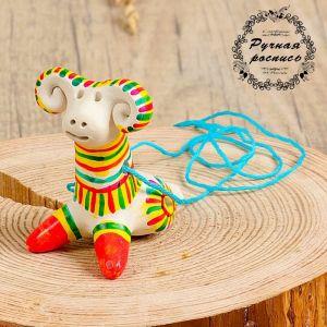 Филимоновская игрушка - свисток «Баран» 3579640