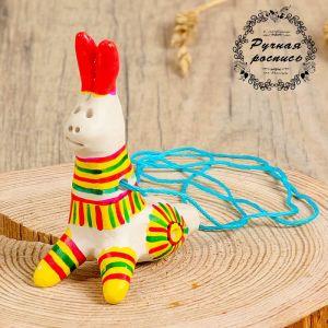 Филимоновская игрушка - свисток «Заяц» 3579641