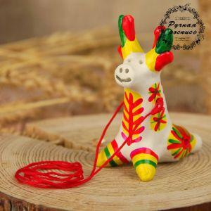 Филимоновская игрушка - свисток «Олень» 2818862
