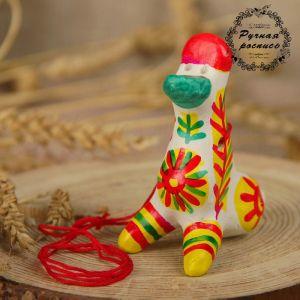 Филимоновская игрушка - свисток «Утка» 2818860
