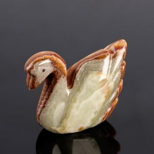 Сувенир «Лебедь»,оникс 4864970