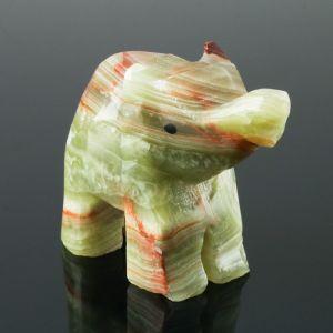 Сувенир «Слон», 6,3 см, оникс 4565466