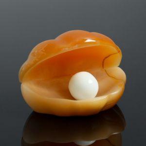Сувенир «Жемчужина», 6?4,5 см, селенит   4497031