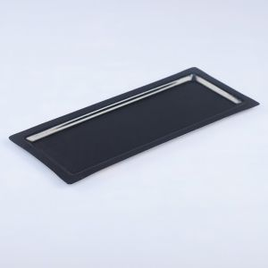 Поднос, заготовка под роспись, 31,5?13,5 см, чёрный   4443746