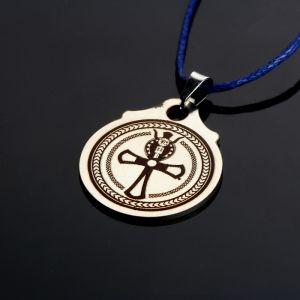 """Амулет """"Египетский крест жизни Анкх"""", (медсталь) 2342881"""