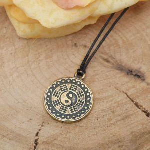 """Амулет из ювелирной бронзы """"Инь-Ян"""" символ жизни, придающий энергетическое равновесие"""