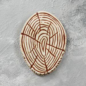 """Сувенир-подвесной для изготовления оберега, подставка """"Срез дерева"""", 21 см"""