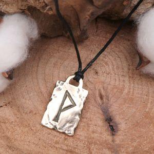 Руна из ювелирной бронзы № 08 Вуньо