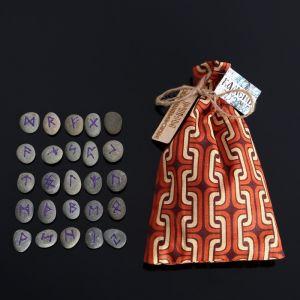 Набор скандинавских рун из камня, 25 штук 1114159