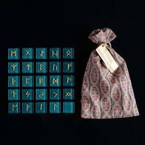 Набор скандинавских рун из стекла, 25 штук 795791