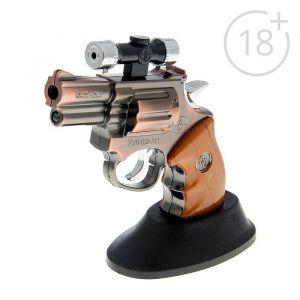 """Зажигалка газовая """"Револьвер с прицелом"""", микс 505891"""