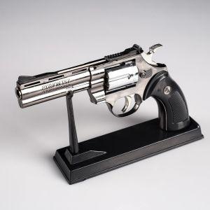 """Зажигалка на подставке """"Револьвер"""", пьезо, газ, 24х14 см 452794"""