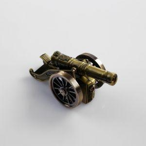 "Зажигалка настольная ""Пушка"", пьезо, газ, 10х3.5 см, 271491"