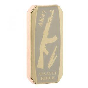 """Зажигалка электронная """"АК-47"""" в подарочной коробке, спираль, прямоугольная, 8 ? 3 ? 12.5 см 2598179"""