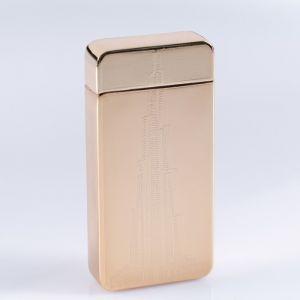 """Зажигалка электронная """"Небоскреб"""" в подарочной коробке, USB, дуговая, 3.5х7 см 3018066"""