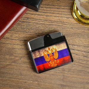 """Зажигалка электронная """"Флаг России"""", USB, спираль, 5.5х1х5 см 3916483"""