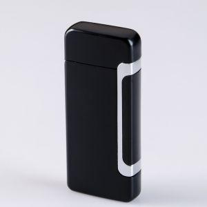 Зажигалка электронная в подарочной коробке, USB, дуговая, с индикатором заряда 3.3х7.8 см   4503199