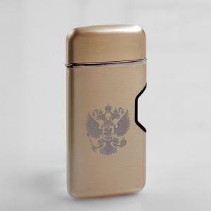 Зажигалка электронная в подарочной коробке, спираль USB,  5.7х3.5х2 см   4738445