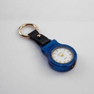 Зажигалка электронная с часами и фонарём, в подароч.коробк,USB. спираль.микс 5.5хх4.5х1.5 см 4738446