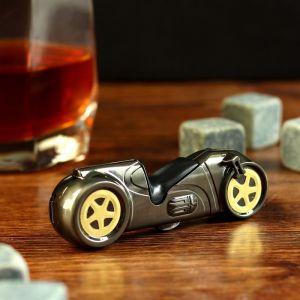 "Зажигалка электронная, ""Мотоцикл"", USB, спираль, 1.5х2.5х8.5 см 3598543"