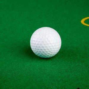 Мяч для гольфа, 2-х слойный, 420 выемок, d=4.3 см, 45г 126126
