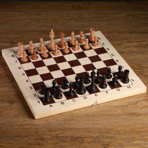 """Шахматные фигуры """"Державные"""", утяжеленные (король h=9 см, пешка h=4.4 см, бук)   4438237"""