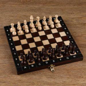 Шахматы ручной работы, 27х27 см, король h=6 см. пешка h- 2,5см   4963450