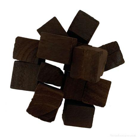 Дубовые кубики сильный обжиг, 1,5х1,5х1,5