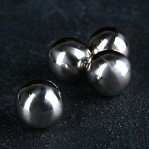 Набор камней для виски «Шар», 2 см, нержавеющая сталь