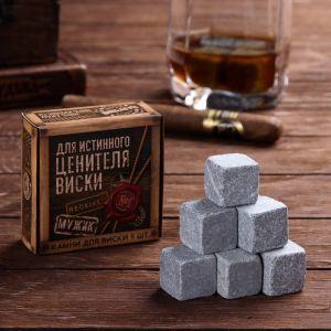 Камни для виски «Для истинного ценителя виски», 9 шт.