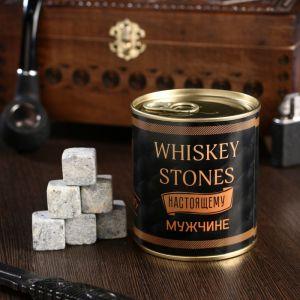 """Набор камней для виски """"Whiskey stones. Vintage"""", в консервной банке, 9 шт. 4832938"""