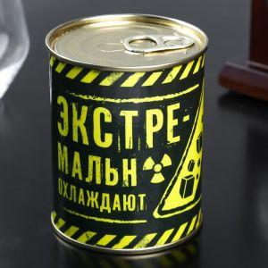 """Набор камней для виски в консервной банке """"Экстремальное охлаждение"""", 9 шт   4729789"""